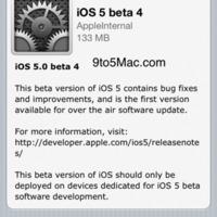 Kijött az iOS 5 negyedik bétája