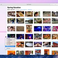 Az új macOs-ben a Photos együttműködik külső fejlesztőkkel, így