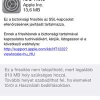 Miért nagyon fontos, hogy felrakd az új iOS update-et?