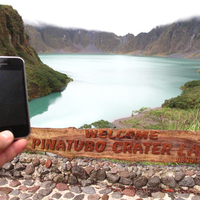 Utazó iPhone: Pinatubo