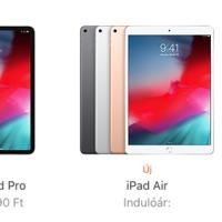 Ötféle iPadet árul már az Apple, senki nem tudja, miért