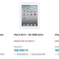 Egy 64 gigás iPad 2-t nyerhettek