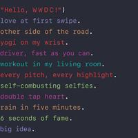 Az Apple kódolt egy üzenetet a WWDC meghívójában