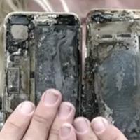 Igen, TÉNYLEG kigyulladt egy iPhone 7 is