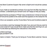A Mac App Store-os vásárlások árát is visszafizeti az Apple