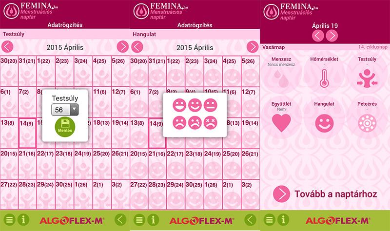 menzesz naptár alkalmazás Egy naptár, amivel igazán fontos ügyeket tervezhetsz   M Naptár  menzesz naptár alkalmazás