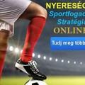 Tanuld meg a hatékony, és nyereséges sportfogadási stratégiákat online!