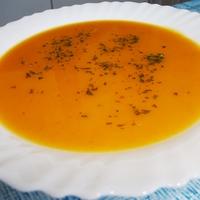 Fűszeres sárgarépa-krémleves