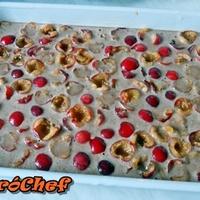 Csokis-cseresznyés sütemény