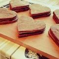Fűszeres kekszek csokoládés habbal töltve