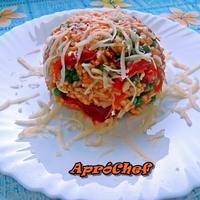Zöldséges rizses egytálétel kolbásszal