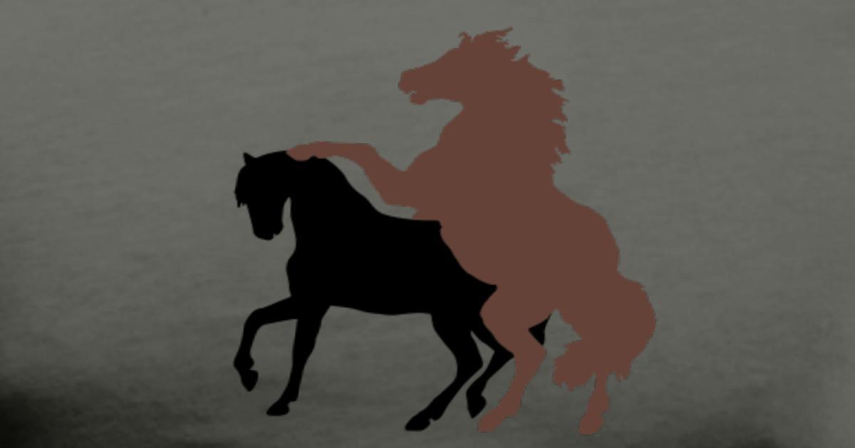 mating-horses-men-s-premium-t-shirt.jpg