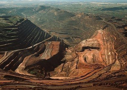 Ausztrália aranybányászat