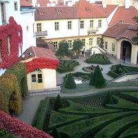 Barokk kert a cseh fővárosban