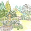 virágvasárnap kertje