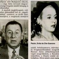 Szent Evita nerc bundában