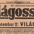 A japán kapituláció a magyar sajtóban