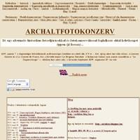 10 éves az ARCHALTFOTOKONZERV. Önbejegyzés.
