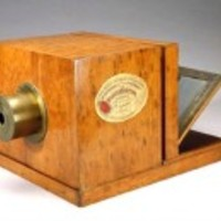 1839-es dagerrotip kamera Girouxtól, Bécsben, aukción.
