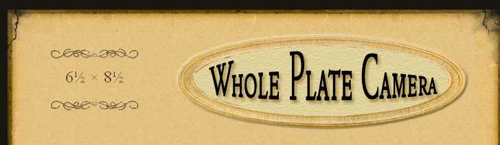 Whole Plate Camera banner