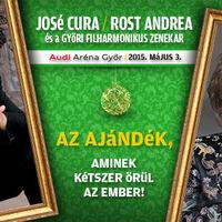 José Cura és Rost Andrea közös koncertet ad Győrben