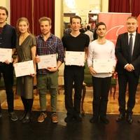 Hat fiatal előadóművész kapta meg a Vodafone ösztöndíját Miskolcon