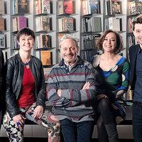 Fullajtár Andrea és Bálint András a Libri-díj zsűrijében