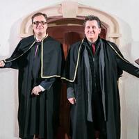 Szobrot állítottak Verdinek és Wagnernek a budafoki Borvárosban