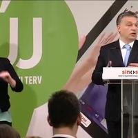 Orbán Viktor: A munkanélküliség a fogyatékkal élők körében jelentős mértékben nőtt...őőő...csökkent