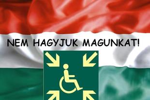 Zászlót bont a Rokkant Emberek Érdekközössége. Miről is szól ez az egész?