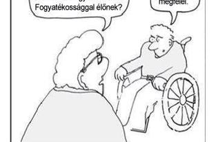 Szégyen: a mozgássérültek szövetsége nem tudja, mi a különbség a rokkant és a fogyatékos szavak jelentése között