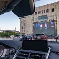 Július 1-jén nyit a Müpa autós koncertmozija