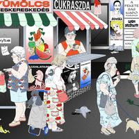 Valló Berta illusztrációival nyit a Werk Galéria