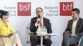 Orosz alkotók a Budapesti Tavaszi Fesztiválon