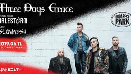 Pár nap múlva Budapesten a Three Days Grace