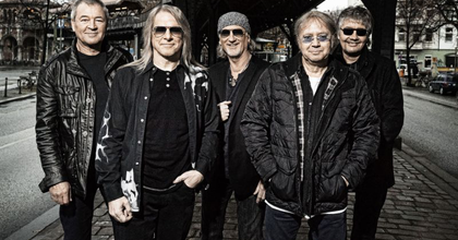 A Deep Purple visszatér Budapestre