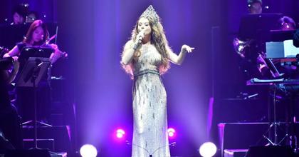 Sarah Brigthman karácsonyi koncertje Budapesten