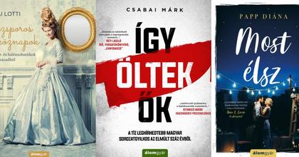 Öt magyar szerző könyvét mutatta be az Álomgyár Kiadó