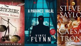 Áprilisra történelmi krimit, skandináv krimit és titkosszolgálati thrillert is ajánlunk