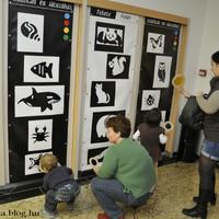 Fekete-Fehér kiállítás és játszóház