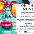 ON THE MOVE – street art workshop a mobilitásról