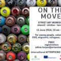 ON THE MOVE – street art workshop on mobility
