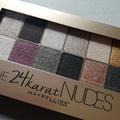 Maybelline 24K Nudes paletta - teszt
