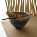 Bambusz szék teázáshoz