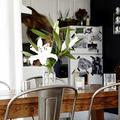 New yorki otthon fekete-fehérben