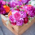 Virágdekoráció újrahasznosítva
