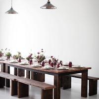 Vasárnapi asztal modern vidéki stílusban