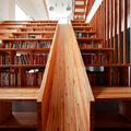 Könyvtár csúszdával
