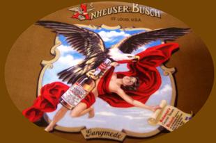Így szárnyalt a Budweiser Zeusz szerelmével