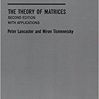 __FULL__ The Theory Of Matrices, Second Edition: With Applications (Computer Science And Scientific Computing). futbol embargo years cosas economic Plaza Febrero